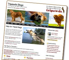 tripawds wordpress multisite network home page