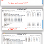 verizon packet loss network comparison
