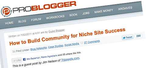 WordPress Multisite Network Problogger Guest Post