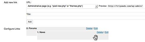 configure wordpress multisite custom admin bar menu